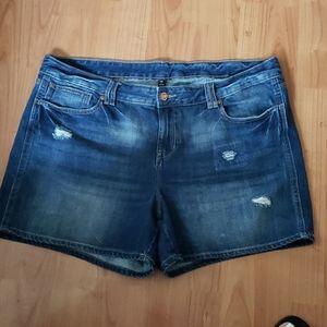 Gap denim jean shorts